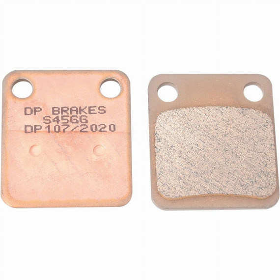 DP Brakes Standard Sintered Metal Motorcycle Brake Pads for Honda
