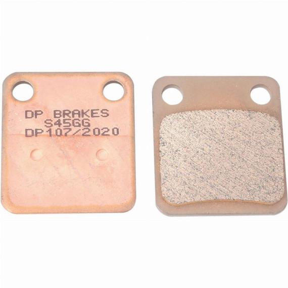 DP Brakes Standard Sintered Metal Motorcycle Brake Pads for Buell