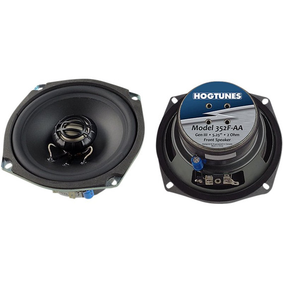 """Hogtunes Gen3 5.25"""" Replacement Speakers for Harley Davidson"""