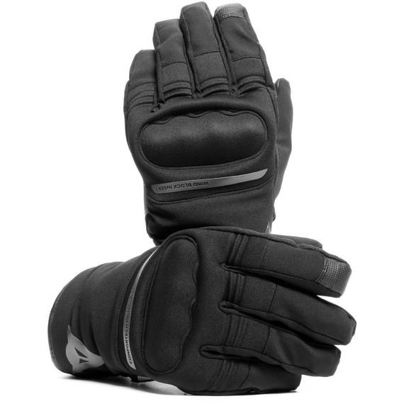 Dainese Avila Unisex D-Dry Gloves (Black/Anthracite)