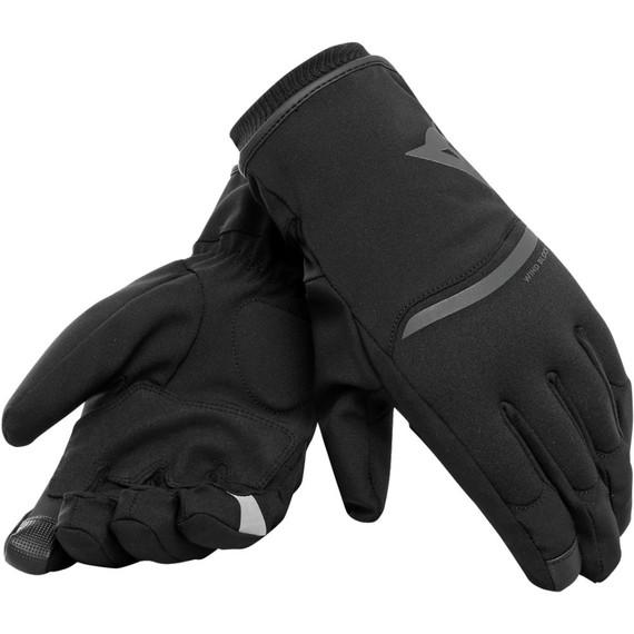 Dainese Plaza 2 Unisex D-Dry Gloves (Black)