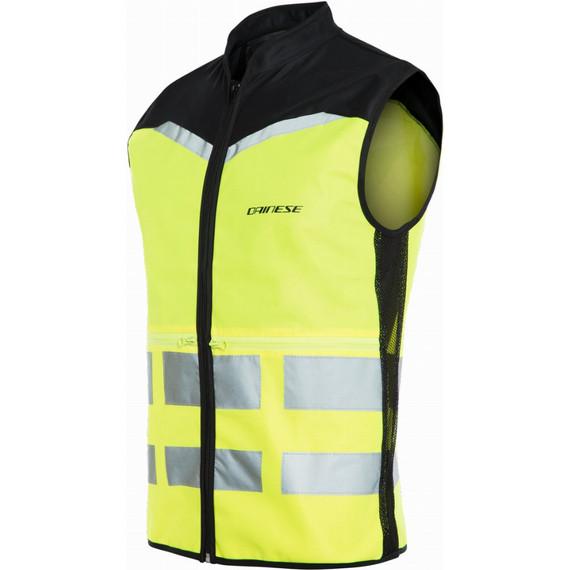 Dainese Explorer Packable Hi-Vis Vest (Fluo Yellow)