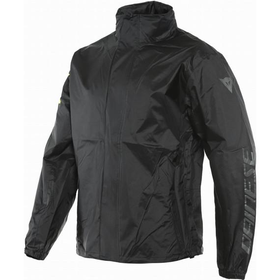 Dainese VR46 Rain Jacket (Black/Fluo Yellow)