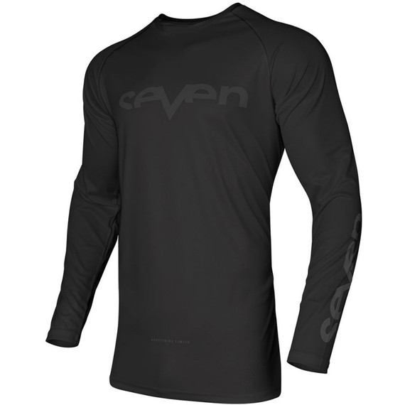 Seven Youth Vox Staple Vented Jersey (Black)