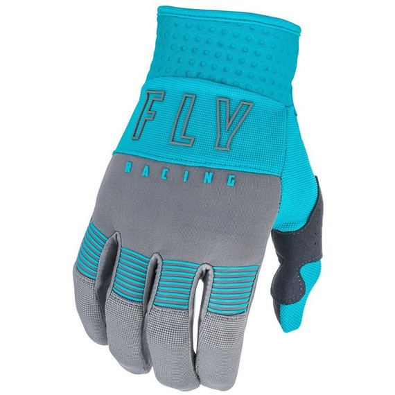 Fly Racing Womens F-16 Gloves (Grey/Blue)