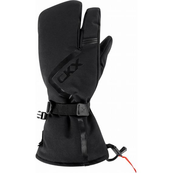 CKX Throttle 3-Finger Mittens (Black)