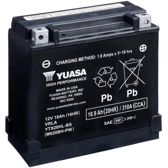 Yuasa High Performance AGM Scooter Battery