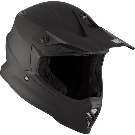 CKX Youth TX019Y Solid Helmet (Matte Black)