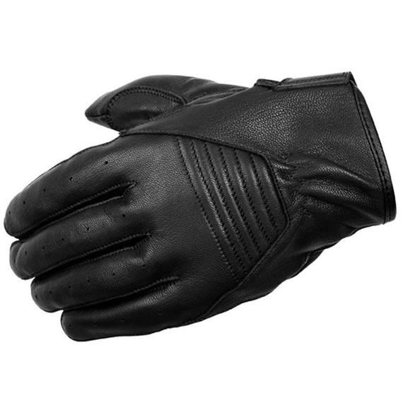 Scorpion Short-Cut Leather Gloves (Black)