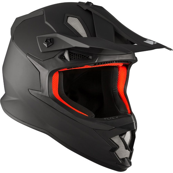 CKX TX319 Solid Helmet (Matte Black)