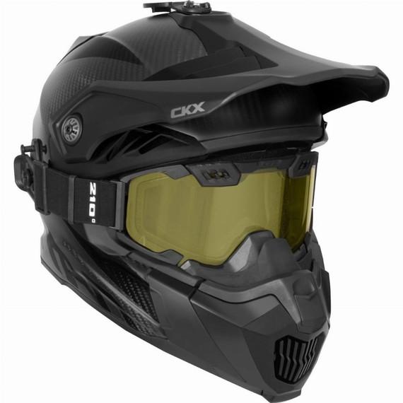 CKX Titan Air Flow Carbon Helmet (Matte Carbon)