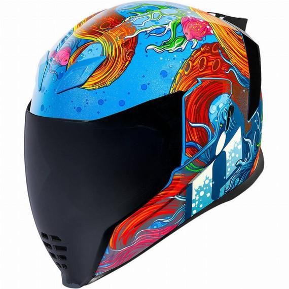 Icon Airflite Inky Helmet (Blue)