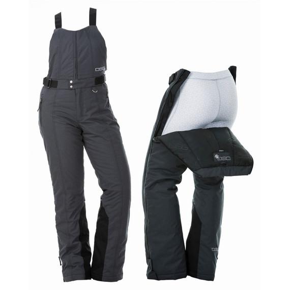 DSG Craze 4.0 Women's Insulated Drop Seat Bib (Charcoal/Black)