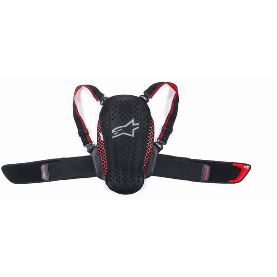 Alpinestars Youth Nucleon KR-Y Back Protector (Black/Red)