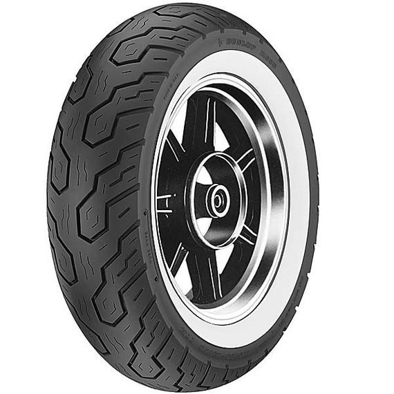 Dunlop K555 Whitewall Rear Tire