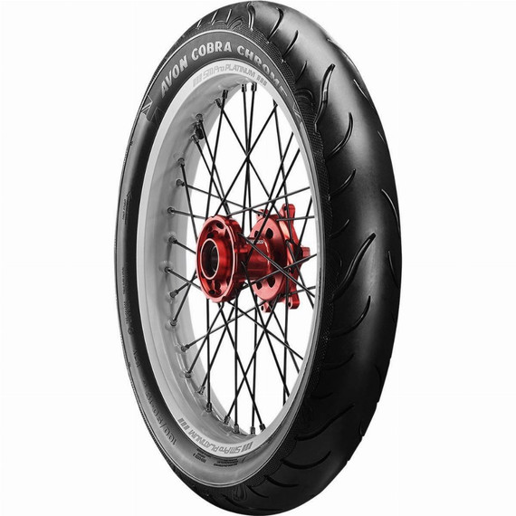 Avon AV91 Cobra Chrome Trike Front Tire