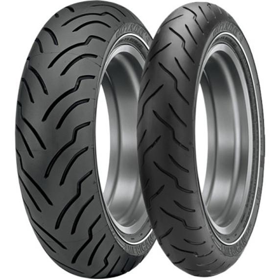 Dunlop American Elite Harley-Davidson Whitestripe Tire