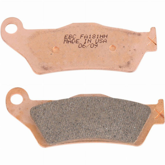 EBC Double-H Sintered Motorcycle Brake Pads for Indian