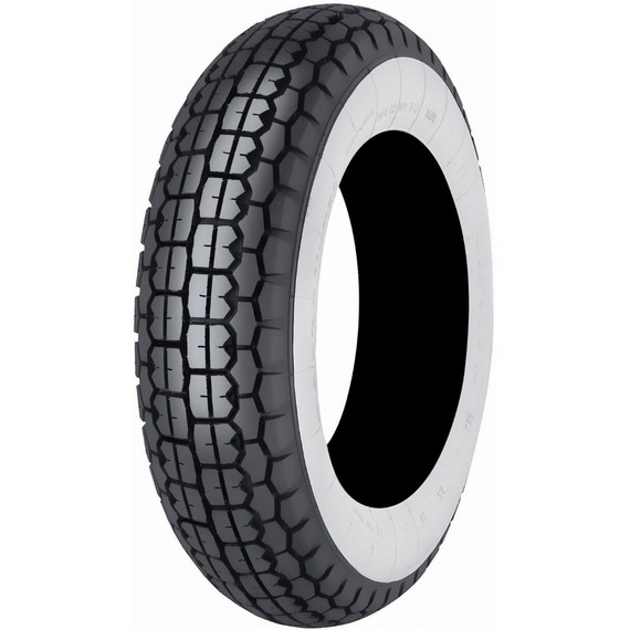 Mitas B13 Scooter Whitewall Front/Rear Tire