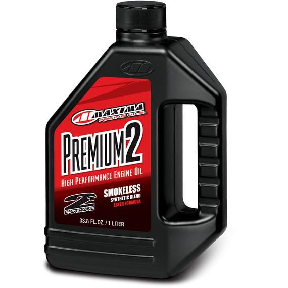 Maxima Premium High Performance 2-Stroke Smokeless Semi-Synthetic Ester Engine Oil