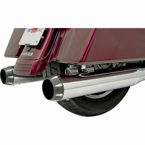 """Bassani 4"""" Quick Change Victory Motorcycle Exhaust End Caps"""