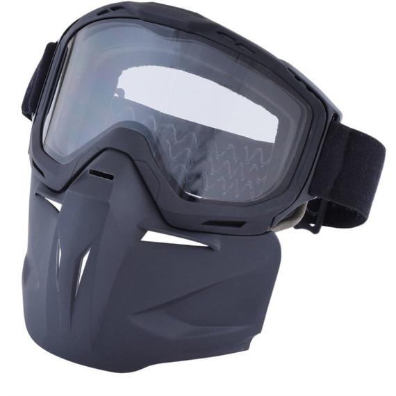 AFX Bounty Hunter Goggles & Mask (Matte Black)