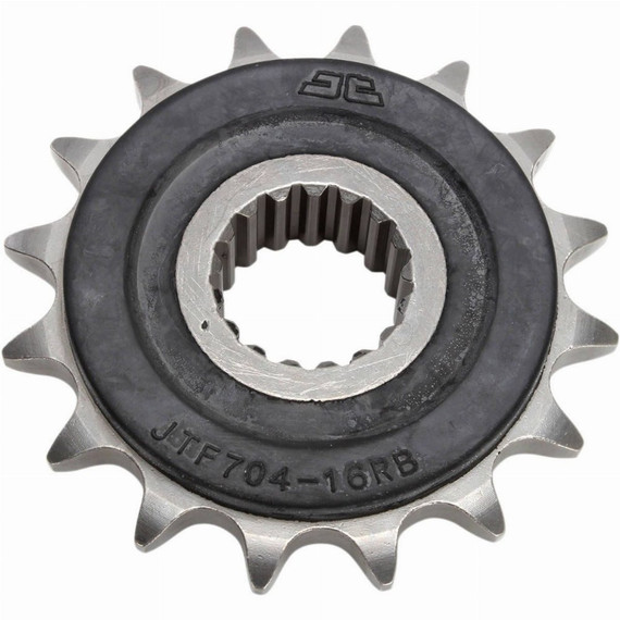 JT Rubber Cushioned Steel Front Motorcycle Sprocket for Kawasaki