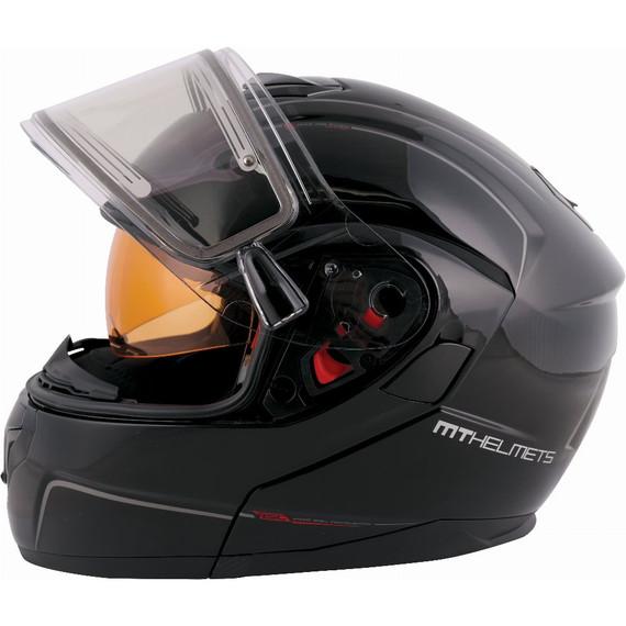 MT Atom SV Solid Snow Helmet