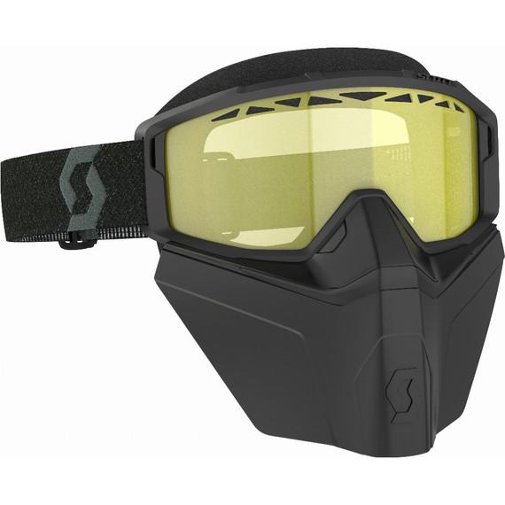 Scott Primal Safari Facemask Goggles (Black/Yellow)