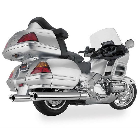 "Cobra Classic 4"" Slip-On Motorcycle Exhaust for Kawasaki"