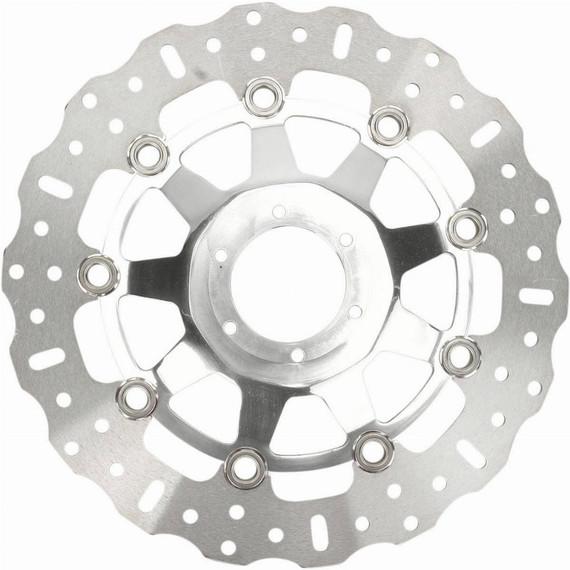 EBC Polished Contoured Motorcycle Brake Rotor