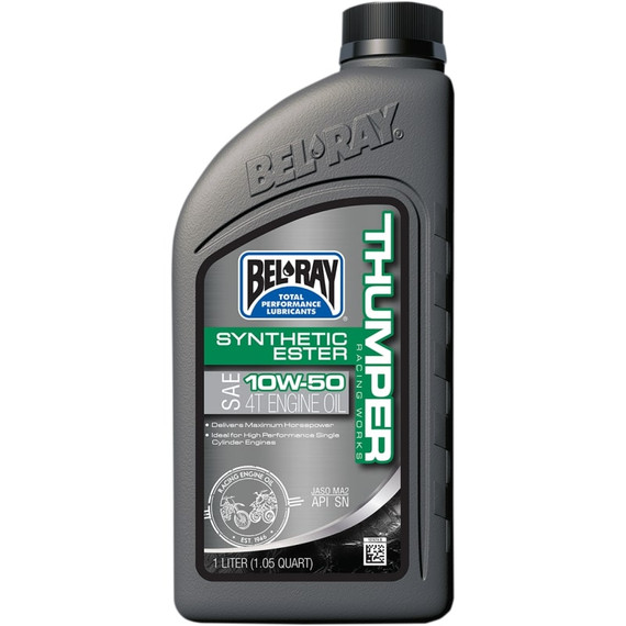 Bel Ray Thumper Racing Works Synthetic Ester 4T Engine Oil