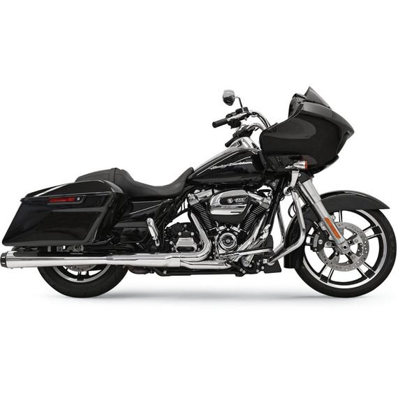 "Bassani 4"" Slip-On Mufflers For Harley Davidson"