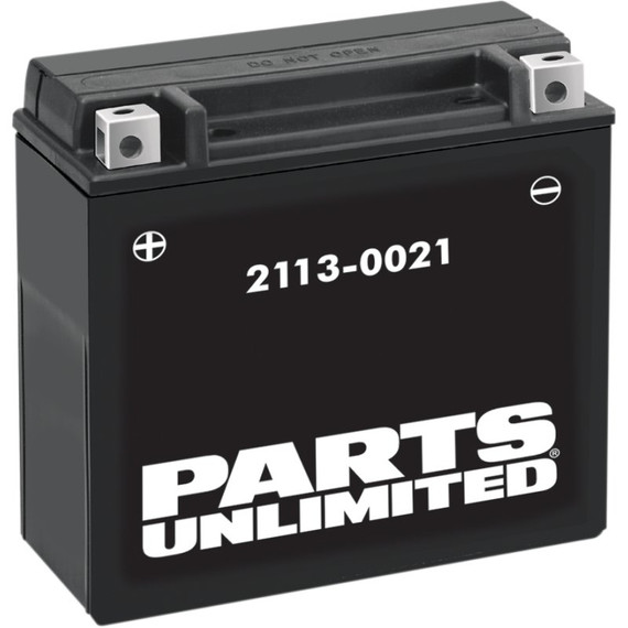 Parts Unlimited High Performance AGM ATV/UTV Battery