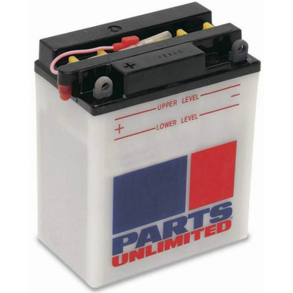 Parts Unlimited Heavy Duty Conventional Snowmobile Battery (Acid Not Included)