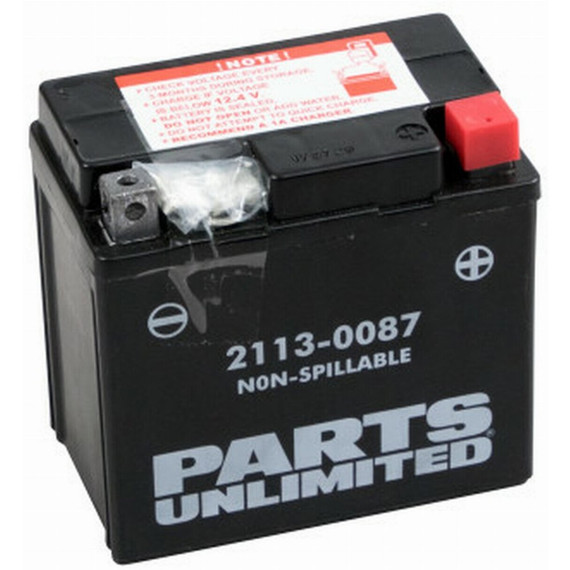 Parts Unlimited Factory Activated AGM Dirt Bike Battery