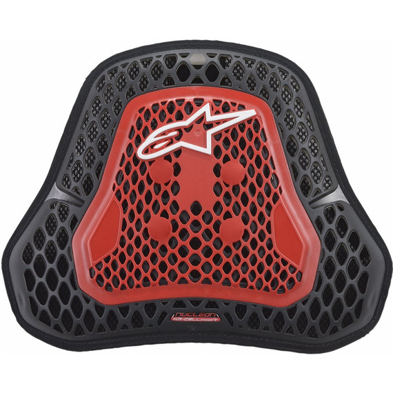 Alpinestars Nucleon KR-Cell CiR Chest Protector (Smoke/Red)