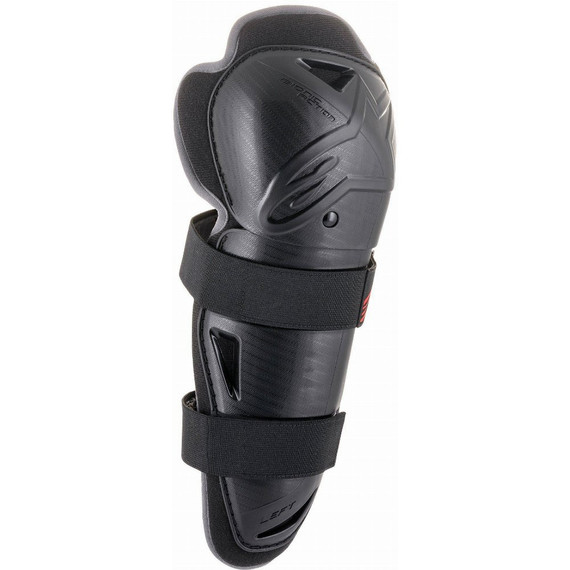 Alpinestars Bionic Action Knee Guards (Black/Red)