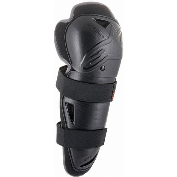 Alpinestars Youth Bionic Action Knee Guards (Black)