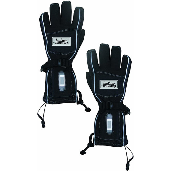 Hyperkewl IonGear Battery Powered Heated Gloves (Black)