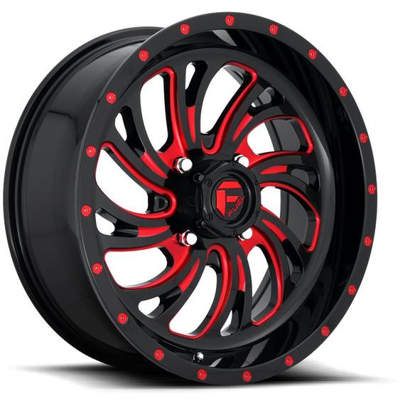 Fuel D642 Kompressor Wheel (Gloss Black/Candy Red)