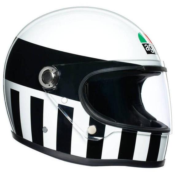 AGV X3000 Invictus Helmet (White/Black)