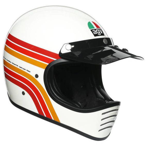 AGV X101 Dakar 87 Helmet (White)