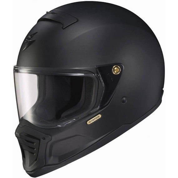 Scorpion EXO-HX1 Solid Helmet (Matte Black)