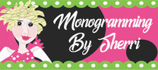 Monogramming By Sherri