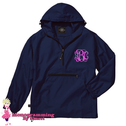 Charles River Pack N Go Pullover (Navy)
