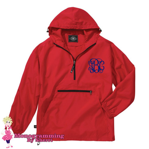 Charles River Pack N Go Pullover (Red)