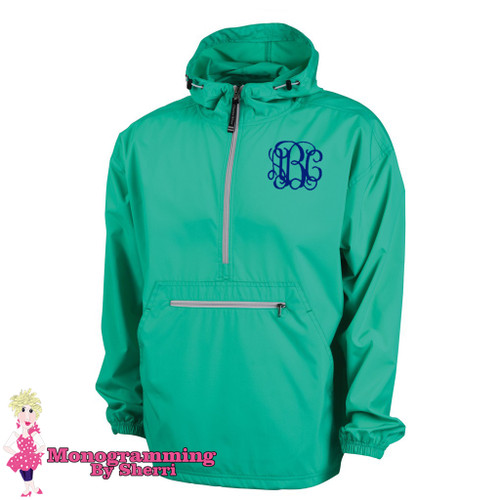 Charles River Pack N Go Pullover (Mint)
