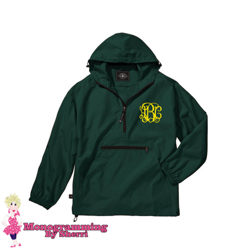 Charles River Youth Pack N Go Pullover (Forest)