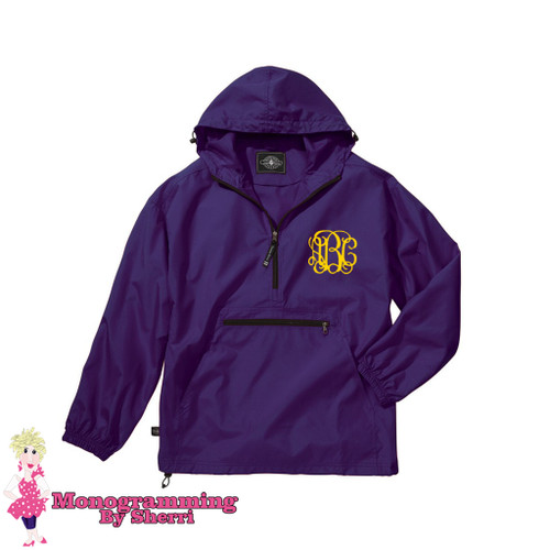 Charles River Youth Pack N Go Pullover (Purple)